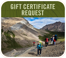 Gift Certificate Request